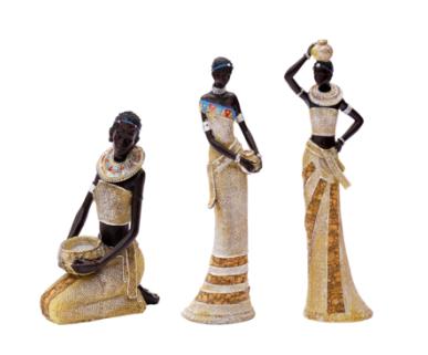 Afrikanische Dekofiguren für Ihre Wohnung