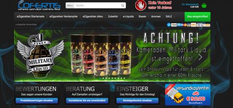 Lofertis: Der Onlineshop für Nikotin Shots in Geesthacht