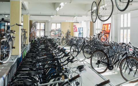 Fahrradmodelle des Fahrradhandels HFC