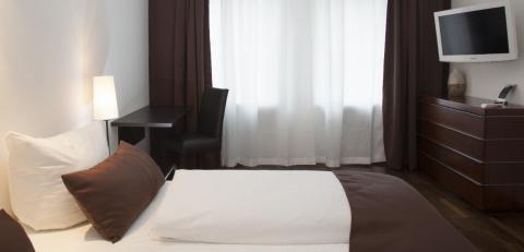 Elegantes Designhotel in München: Hotel Mons am Goetheplatz in München