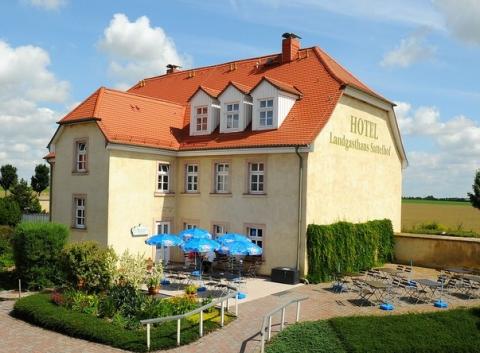 Ansicht des Hotel Landgasthaus Sattelhof