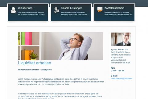 Inkassodienst Jannsen: Finanziell auf der sicheren Seite  in Niebüll