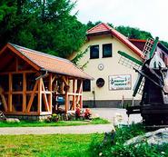 Gebäude und Hof von Pension Talmühle in Elbingerode im Harz