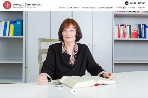 Armgard Zimmermann: Die zuverlässige Arbeitsrechtskanzlei für die Region Koblenz in Lahnstein