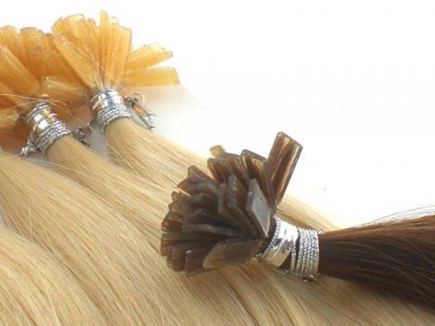 Haarverlängerungen mit Bondings