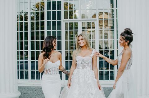 In Bielefeld bekommen Sie beim Brautkleidkauf eine individuelle Beratung