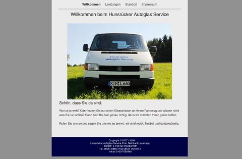 Hunsrücker Autoglas Service in Woppenroth in Woppenroth