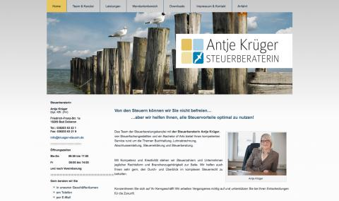 Antje Krüger - Steuerberatung in Kühlungsborn in Kühlungsborn