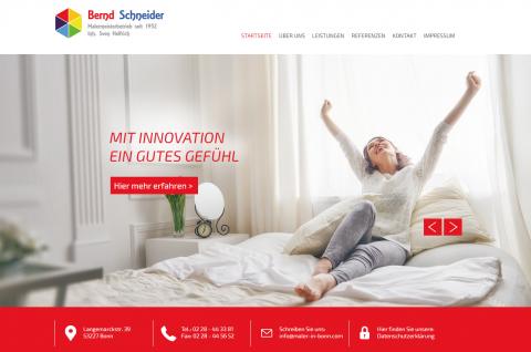 Mit kreativer Raumgestaltung das Haus heimisch machen - Malermeisterbetrieb Bernd Schneider in Bonn