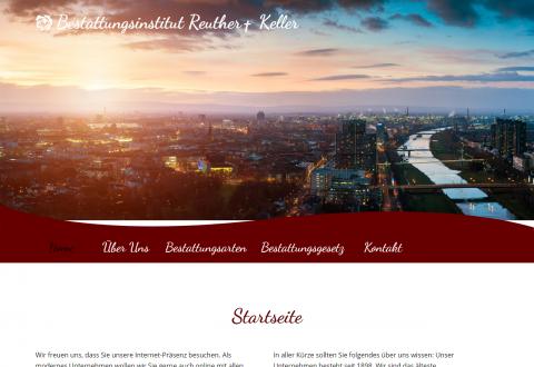Würdevoller Bestatter in Ludwigshafen: Bestattungsinstitut Reuther-Keller GmbH  in Ludwigshafen