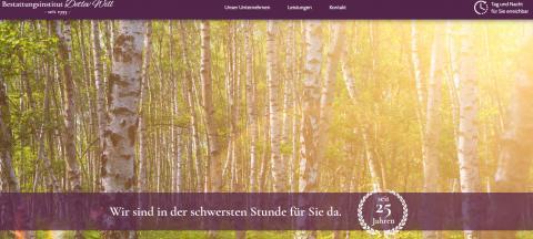 Würdevolle Bestattungen in Herzberg: Bestattungsinstitut Detlev Will  in Herzberg