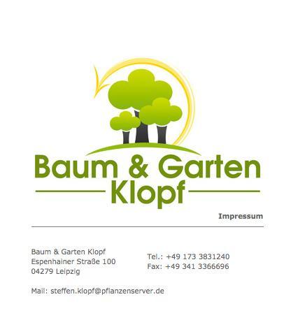 Baum & Garten Klopf - Gärtnerei in Leipzig in Leipzig