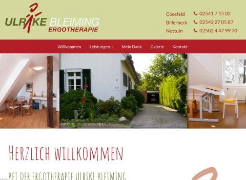 Praxis für Ergotherapie Ulrike Bleiming - Ergotherapie in Nottuln in Nottuln