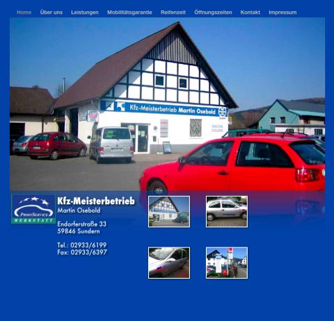 Kfz-Meisterbetrieb Martin Osebold - Autoreparatur-Werkstatt in Sundern (Sauerland) in Sundern (Sauerland)