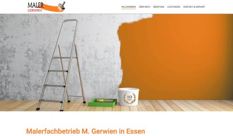 Malerbetrieb Gerwien - Malerbetrieb in Essen in Essen