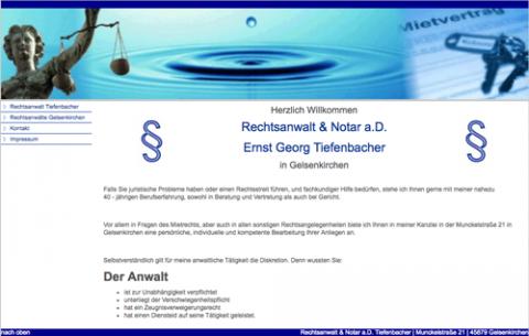 Rechtsanwalt Tiefenbacher - Rechtsanwalt in Gelsenkirchen in Gelsenkirchen