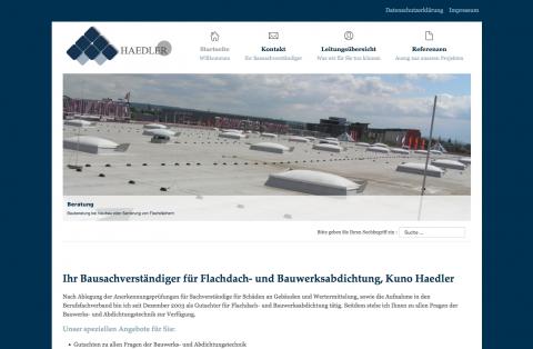 Kuno Haedler Bausachverständiger in Dresden in Leipzig
