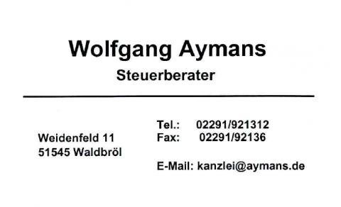 Steuerberatung Aymans - Steuerberater in Waldbröl in Waldbröl