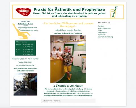 Ästhetische Zahnheilkunde in Münster