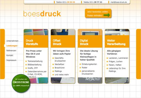 Boes Druck - Druckerei in Düsseldorf in Düsseldorf