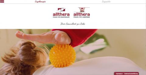 Allthera Frankenberg Ergotherapie und Logopädie - Ergotherapie in Frankenberg in Frankenberg
