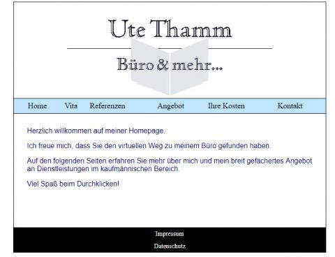 Sorgfältige und zuverlässige Hilfe bei Schreibarbeiten und Buchführung mit Büroservice Ute Thamm in Wesel