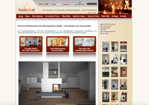 Heizen wie Früher: Ofensysteme von OSA Vertriebs GmbH in Memmingen