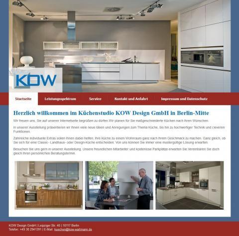 Kuchenstudio Kow Design Gmbh In Berlin