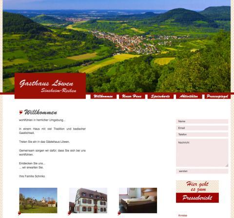 Gasthaus zum Löwen – Fremdenzimmer in Sinsheim in Sinsheim