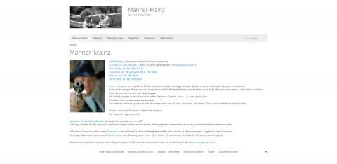 Männergruppe und Männergespräche: Institut für Kreative und Systemische Therapien (IKST) in Mainz in Mainz