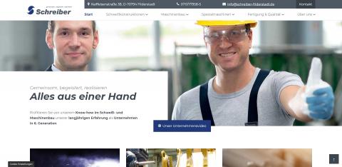 Ihr Experte für Maschinen und Anlagen in Filderstadt: Schreiber Metalltechnik und Maschinenbau GmbH in Filderstadt