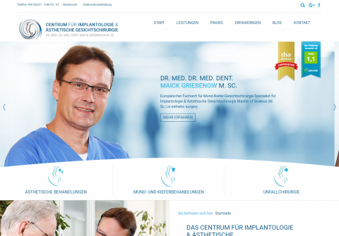 Natürlich schön: Mit Mund-Kiefer-Gesichtschirurg Dr. Dr. Maik Griebenow in Dortmund in Dortmund
