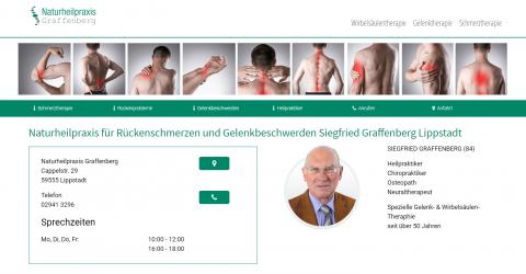 Effektive Wirbelsäulentherapie - Naturheilpraxis Graffenberg in Lippstadt in Lippstadt