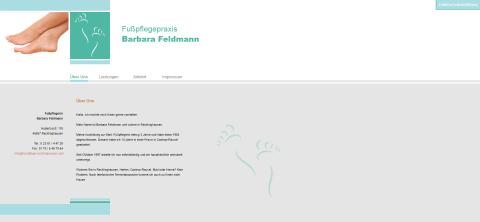 Pediküre von Fußpflegerin Barbara Feldmann in Recklinghausen in Recklinghausen