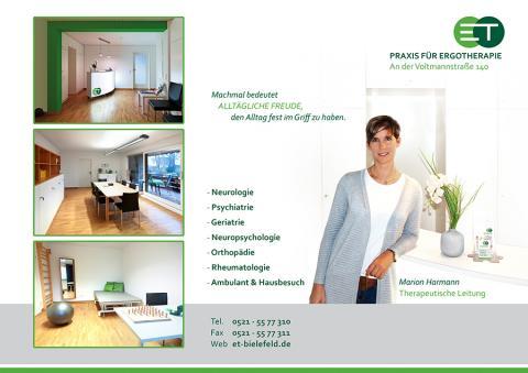 Praxis für Ergotherapie an der Voltmannstr. 140 - Ergotherapie in Bielefeld in Bielefeld