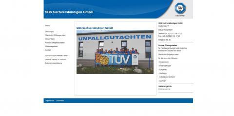 Ihr Partner für Schadengutachten – SBS Sachverständigen GmbH  in Heidenheim
