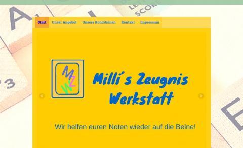 Millis - Zeugnis - Werkstatt – Einzelnachhilfe zu Hause in Alfeld (Leine)