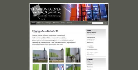 HAAKON BECKER Werbung und Gestaltung - Werbeagentur in Mannheim in Mannheim