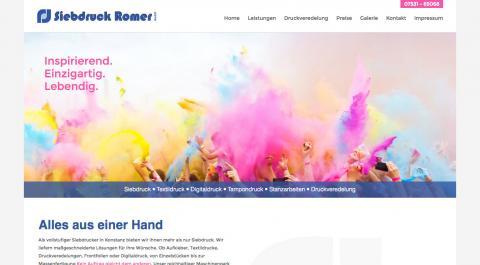Siebdruck Romer GmbH in Konstanz in Konstanz