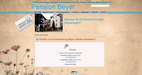 Pension Beyer in Dresden in Kesselsdorf