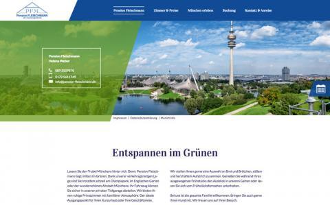 Pension Fleischmann am Olympiagelände in München in München