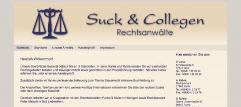 Suck & Collegen Rechtsanwälte - Rechtsanwalt in Jena in Jena