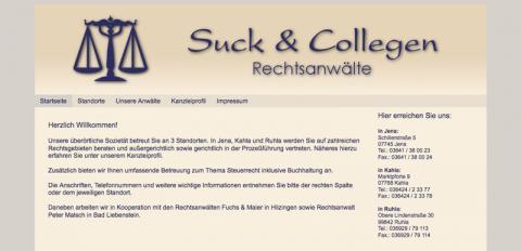 Rechtsanwälte Suck & Collegen - Rechtsanwalt in Ruhla in Ruhla