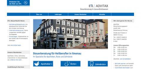 ADVITAX Steuerberatungsgesellschaft mbh - Steuerberatung in Ilmenau in Ilmenau
