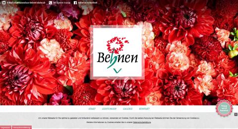 Blumenhaus Behnen in Rheine-Mesum in Rheine