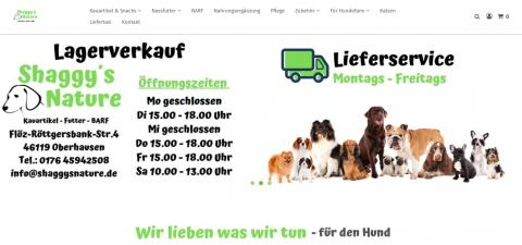 Shaggysnature - Hundebedarf in Oberhausen in Oberhausen