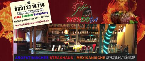 Ihr Steakhaus Restaurant Mendoza in Potsdam – leckeres Essen und eine gemütliche Atmosphäre in Potsdam