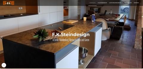Exklusives Steindesign für Haus und Garten in Berlin: F. K. Steindesign GmbH in Schmetzdorf