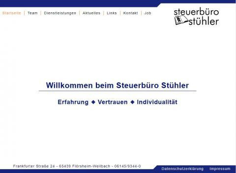 Der Steuerberater Ihres Vertrauens: Steuerbüro Stühler in Flörsheim-Weilbach in Flörsheim-Weilbach