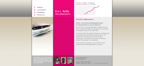 Steuerberaterin Eva L. Reiße in München: Ihr Ansprechpartner für Steuerberatung  in München